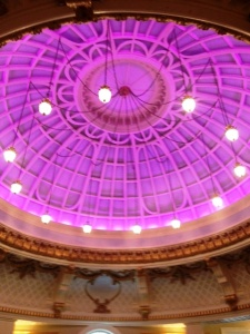 purple ceiling